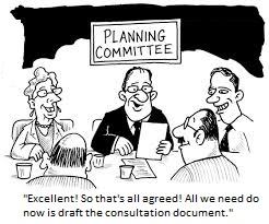 cartoon planning committee