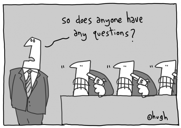 cartoon questions