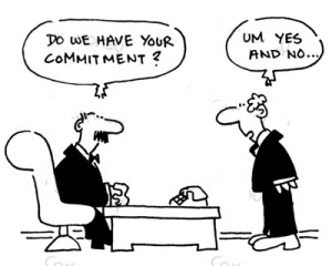 cartoon commitment